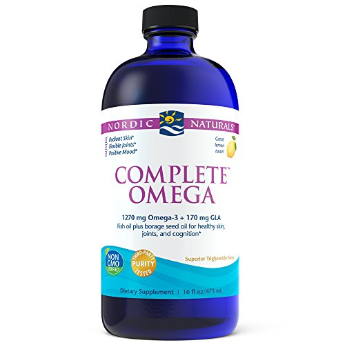 Nordic Naturals – Complete Omega, Supports Healthy Skin, Joints, and Cognition, 16 Ounces