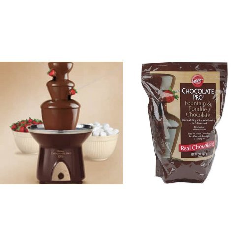 Wilton Chocolate Fountain Bundle