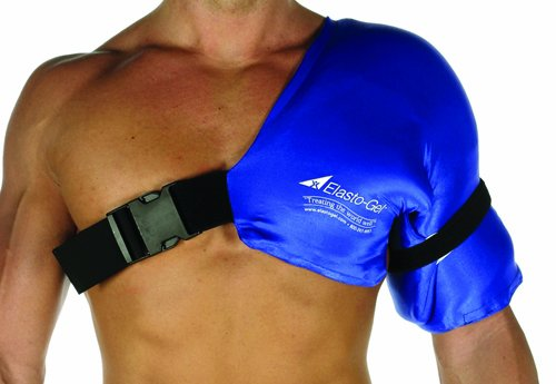SPECIAL PACK OF 3-Elasto Gel Hot & Cold Therapy-Shoulder Wrap by Marble Medical