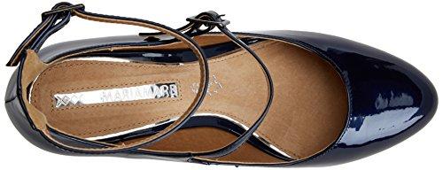 Boral Charolin Mare con Blu Marino Cinturino Donna Scarpe Maria C36119 1a5qnw0Oa