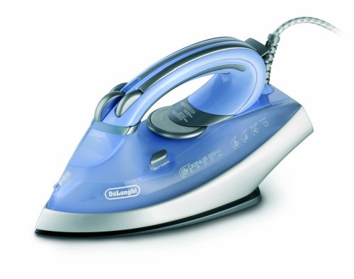 DeLonghi 1800-Watt Steam Iron with Ceramic and Titanium Soleplate by DeLonghi