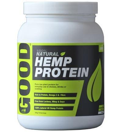 (8 PACK) - Hemp Hemp Natural Protein Powder Original 47% Protein| 500 g |8 PACK - SUPER SAVER - SAVE MONEY by Braham & Murray