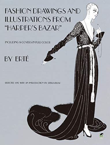 Designs by Erté: Fashion Drawings and Illustrations