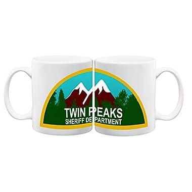 11 ounce Mug - Twin Peaks Sheriff Department Mug - S White