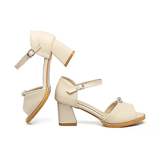 AN Womens Non-Marking Mini-Size Cold Lining Urethane Sandals DIU00879 Beige qwsjtNL