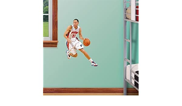 Amazon.com: Fathead NBA Detroit Pistons Tayshaun Prince Junior Wall Graphic by Fathead: Sports & Outdoors