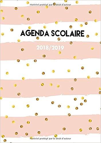 Agenda Scolaire 2018-2019: Agenda Scolaire semainier 2018 ...