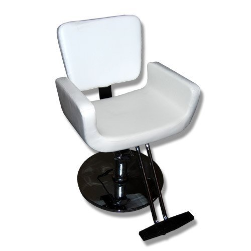 Silla de barbero peluqueria MST- 630 Color blanco: Amazon.es ...