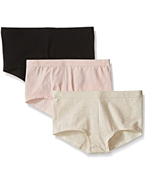 Hanes Women's 3 Pack Ultiamte X-Temp Boyshort 49XT