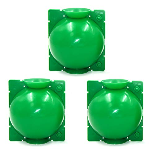 mijiaowatch Plant Root Growing Box Reusable Plant Rooting Device High-Pressure Grafting Botany Root Ball Air-Layering Propagation Pod Rooting Growing Device for Indoor Outdoor Various Plants 3 PCS