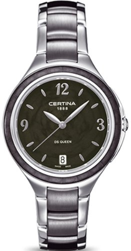 R.CERTINA SRA DS QUEEN ESF.NEG. Women's watches C0182101105700