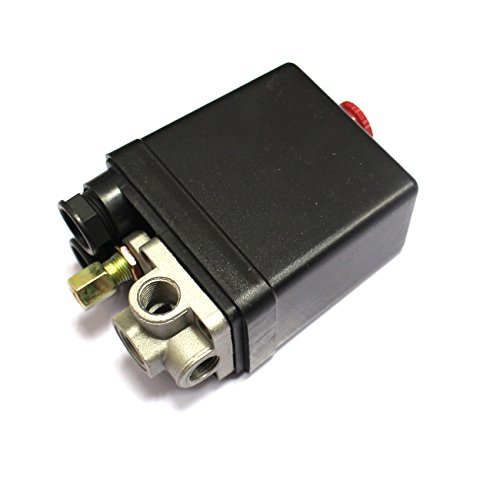 S-Union New Air Compressor Pressure Switch Unload Valve for Hitachi 882-609 PS104PPL Push by S-Union (Image #3)
