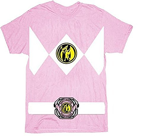The Power Rangers Pink Rangers Costume T-shirt Tee (Toddler 4T) (Pink Power Ranger Toddler Costume)