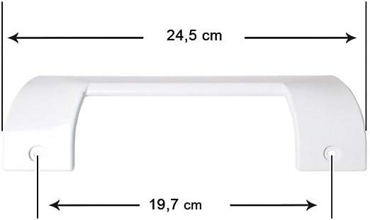 Recamania Tirador Puerta frigorifico Blanco, Balay 3KF4930A01 ...