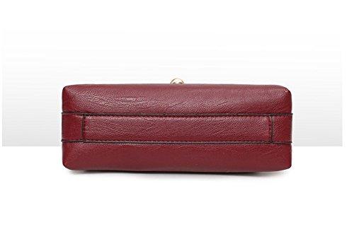 Nuevo Minimalista Spanning Bolsa Clásico Ocio Temperamento Lady Solo Sesgar Hombro Casual Handbag Gules GWQGZ Negro fqdpwf