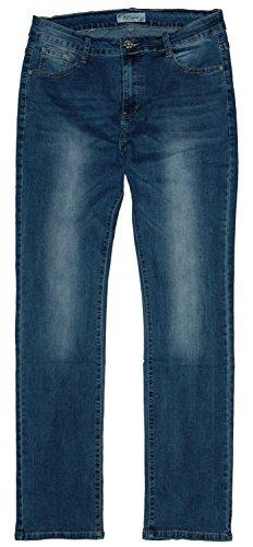 Jeans Bleu S midblue Femme bleu 3873 used droite Jeans Jambe B q4SwZEE