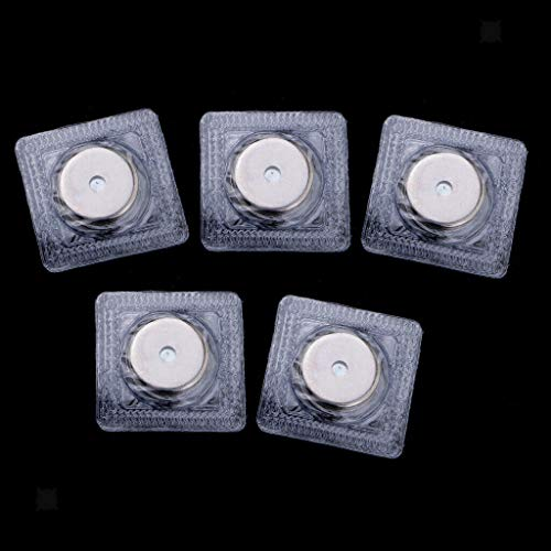 5 Sets Invisible Sew in Magnetic Snaps Magnet Button Purse Closure (3 Sizes) (Size - 21mm)