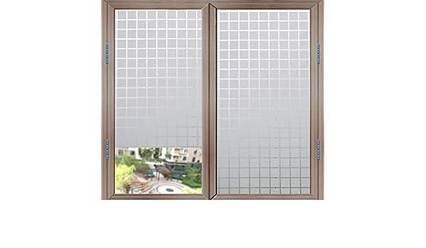HAOLY Oficina Cuadros Película de Cristal,Puerta corrediza Opaco Pegatinas,Sol Sol Pegatinas de Ventana,Pegamento Estática Pegatinas-A 30x200cm(12x79inch): Amazon.es: Hogar