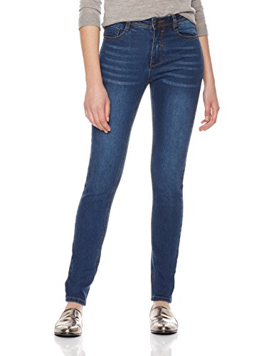 Lily Parker Women's Basic Stretch Denim Curvy 5 Pocket Skinny Jeans