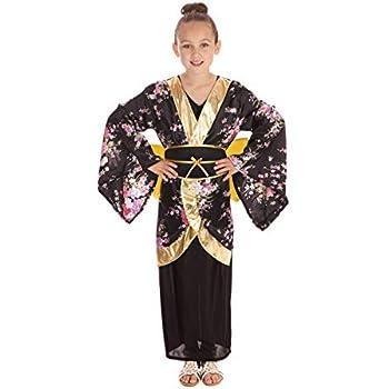 Amazon.com: Disfraz de princesa japonesa, talla M: Clothing