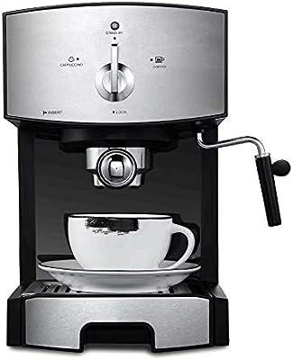 WY-coffee maker Máquina de café de Consumo y Comercial de Tipo Semi-Vapor de Espuma automática, 1350W, 1.25L.: Amazon.es: Hogar