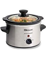 MaxiMatic Elite Gourmet 1.5 Quart Slow Cooker