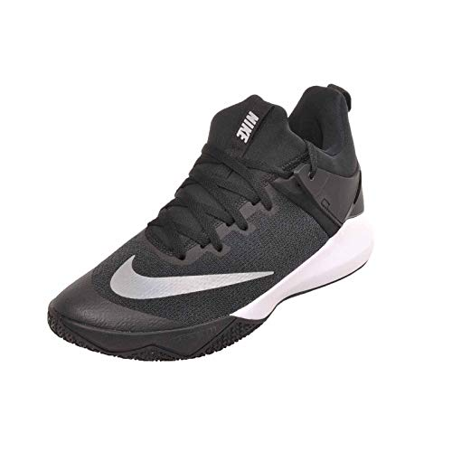 NIKE Shoes Shift White Black Basketball Men's Nylon Zoom 6Xq86zr