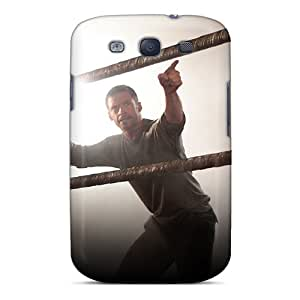 Tpu Fashionable Design Hugh Jackman In Real Steel Rugged Case Cover For Galaxy S3 New