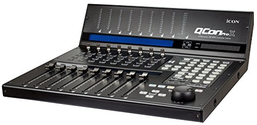 Icon Pro Audio QCONPROX Channel DAW Controller (Best Midi Controller For Logic Pro X)