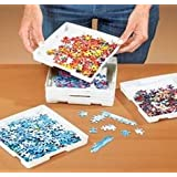 JIGSAW PUZZLE SORTER TRAYS - SET OF 8