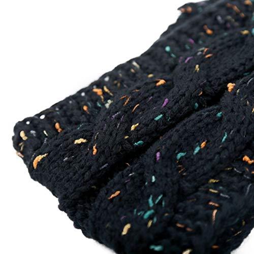 f2fcebd42f3 Women Winter Warm Beanie Headband Skiing Knitted Cap Ear Warmer 1PC ...