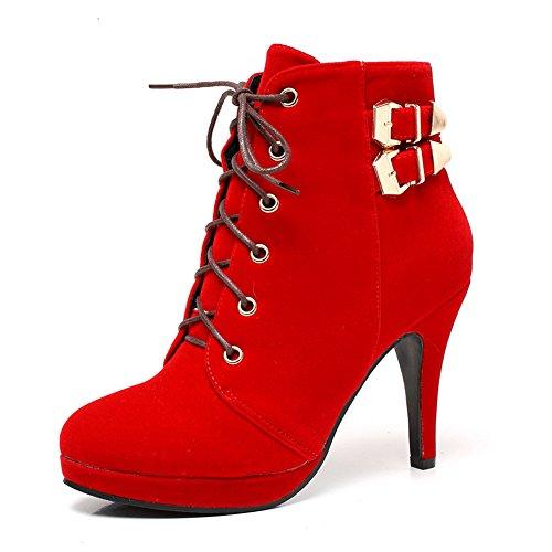 de Getmorebeauty mujer Material para Red Update Botas Sintético FBFqnUEx