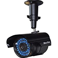 BlueFishCam 1080P 2.0MP AHD Bullet CCTV Camera Day/Night Vision CMOS Chips With IR-CUT Wide Angle 3.6mm Lens Security Waterproof IP66 36 Infrared LEDs