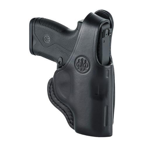 Beretta Leather Holster E01656 04-Hip Holster, Right Hand-BU9 Nano-Nano Lthr Mod 4 RH, Small by Beretta
