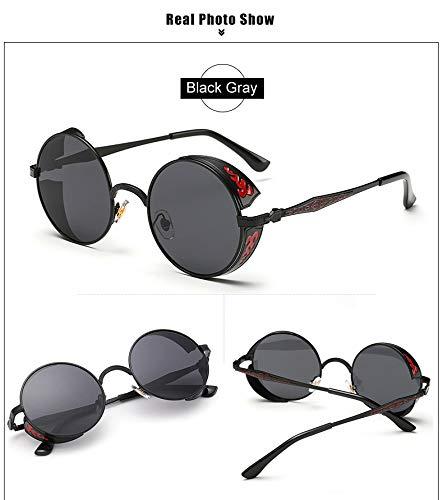 Amazon.com : YLNJYJ Retro Steampunk Gafas De Sol Mujeres ...