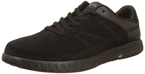 Uomo Sharp Black Scarpe Go on The Skechers Nero Running Glide BCwSwp6q