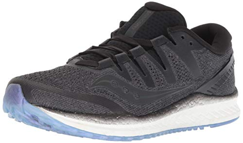 Saucony Women's Freedom ISO 2 Running Shoe, Black, 6 M US (Best Saucony Running Shoes For Neutral Runners)