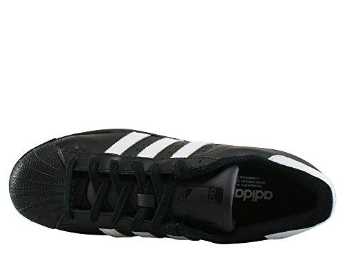 adidas Superstar, Baskets Basses Homme, Noir/Noir, 47 EU Noir (Core Black/footwear White/Core Black)