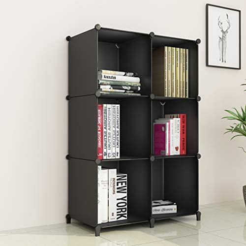 Max 57% OFF JOISCOPE Storage Cubos modulares 6 NEW before selling portá Negro Organizador cubos