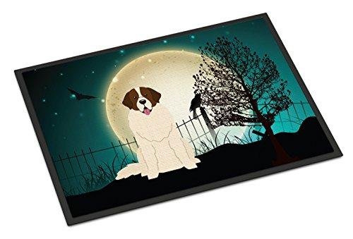 Caroline's Treasures Halloween Scary Moscow Watchdog Indoor or Outdoor Mat 18x27 BB2217MAT 18 x 27