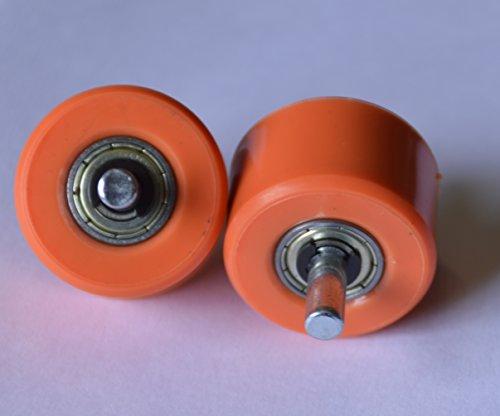 Weilisi Ersatzrollen für Automatische Roll-Sneaker - Verschiedene Farben Orange
