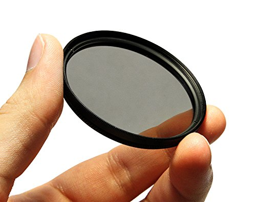 CPL Circular Polarizer Glare Shine Polarizing Filter for Canon EF 50mm f/1.8 II Lens by PhotoCentral