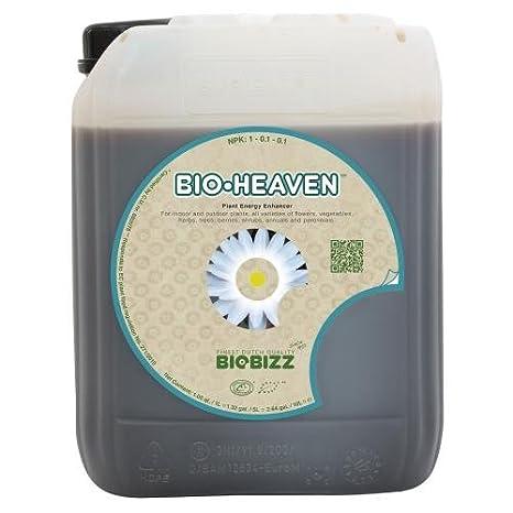 BioBizz Bio-Heaven 5 litros (1/Cs): Amazon.es: Jardín