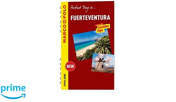 Fuerteventura Marco Polo Travel Guide - with pull out map Marco ...