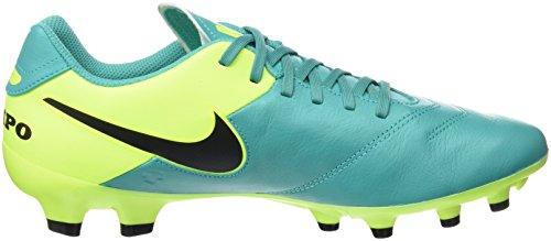5 New Cleat Genio Men's Jade Clear Leather 8 Soccer Volt FG Tiempo II Nike Od6Fqw6