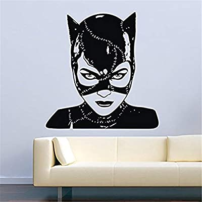 xingbuxin Tatuajes de Pared Catwoman Vinilo Art Deco Decoración ...