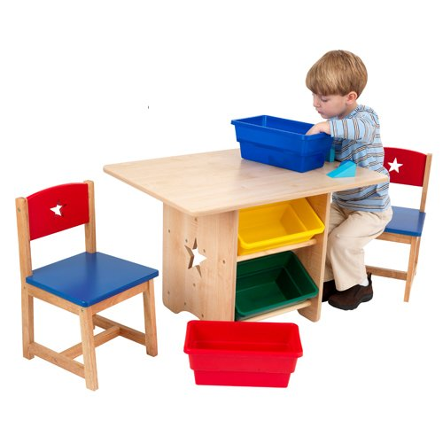 KidKraft Star Table and 2 Chair Set