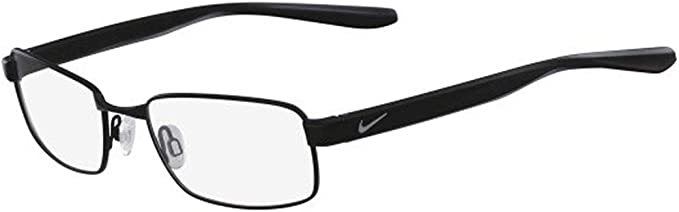 Mata Pebish A través de  Amazon.com: Eyeglasses NIKE 8175 001 Satin Black: Clothing
