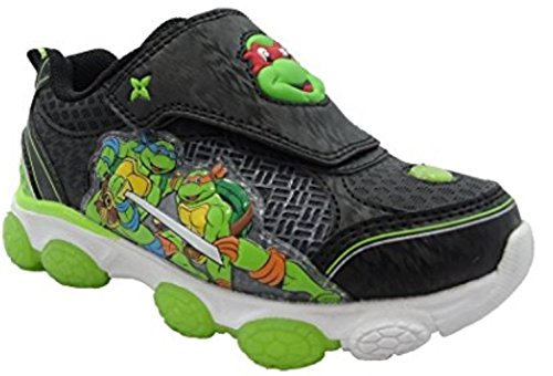 (Disney Teenage Mutant Ninja Turtle Light Up Toddler Boys Athletic Shoe (8))