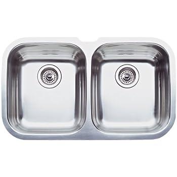 Blanco 516211 16 Inch Precision Medium Equal Double Bowl